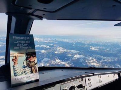 Tipps gegen Flugangst | FlugGenuss Flyer | Cockpit
