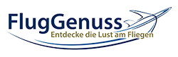 Fluggenuss – Therapie gegen Flugangst Logo